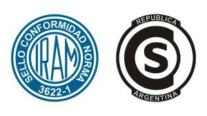 sello conformidad norma 3622-1